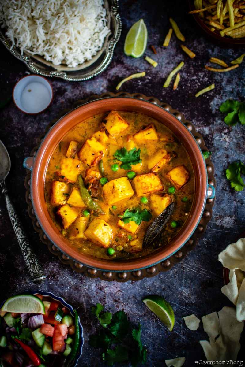 Bengali style Paneer Curry