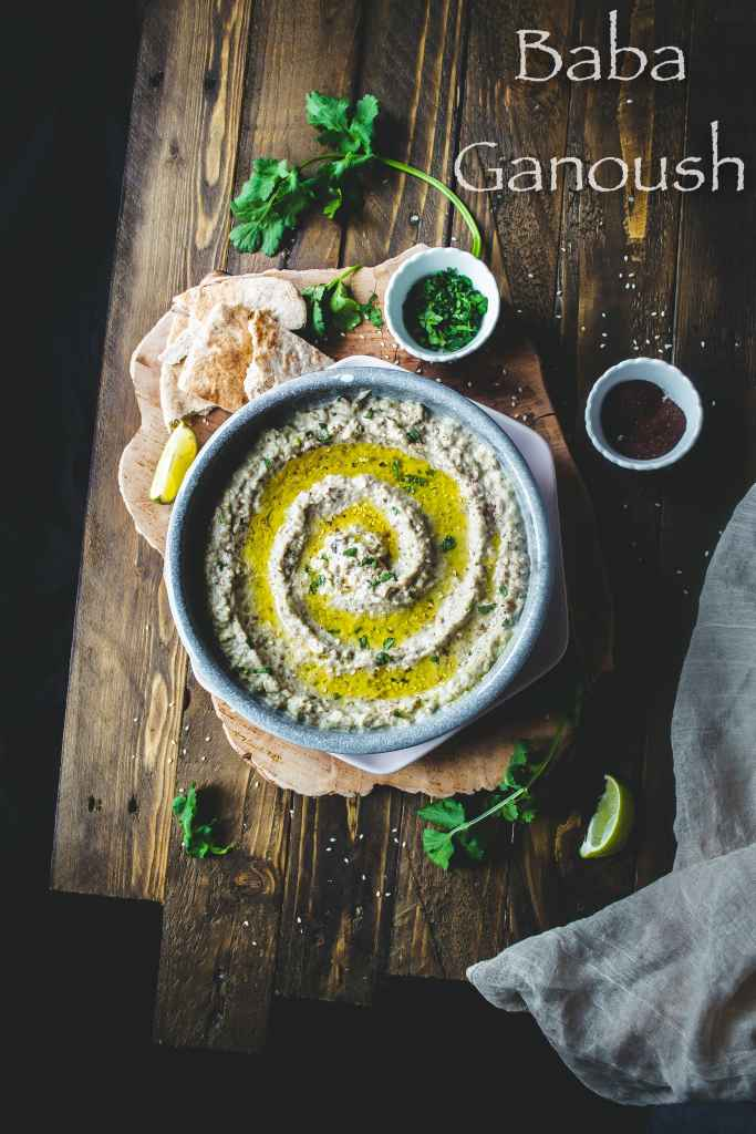 Baba Ganoush (Roasted Eggplant Dip)