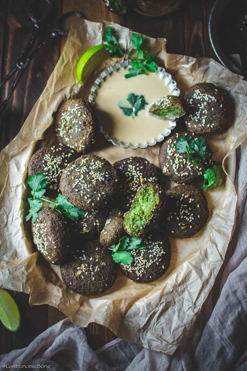 Egyptian Falafel (Ta'ameya)