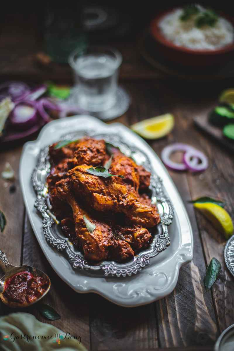 Mangalorean Chicken Ghee Roast