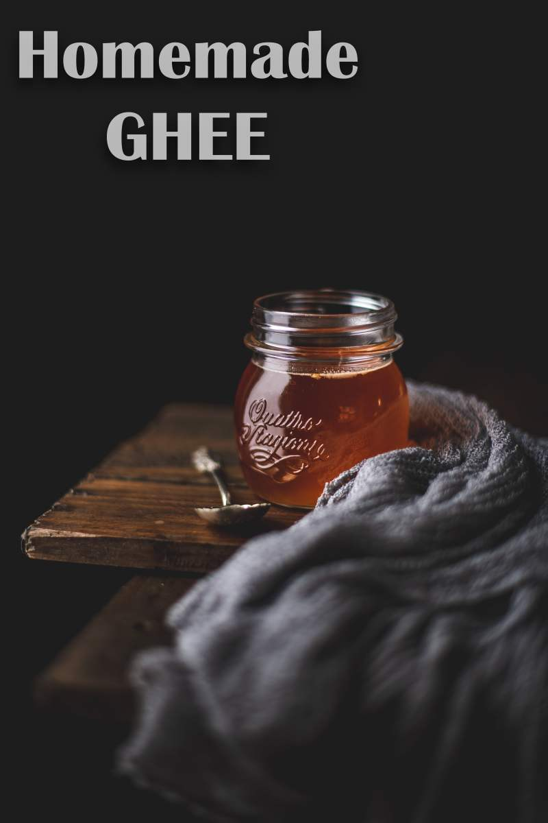 Homemade Ghee   How to make Desi Ghee with Butter