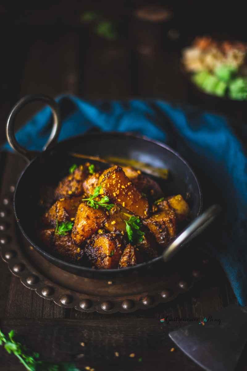 Himachali pumpkin curry recipe