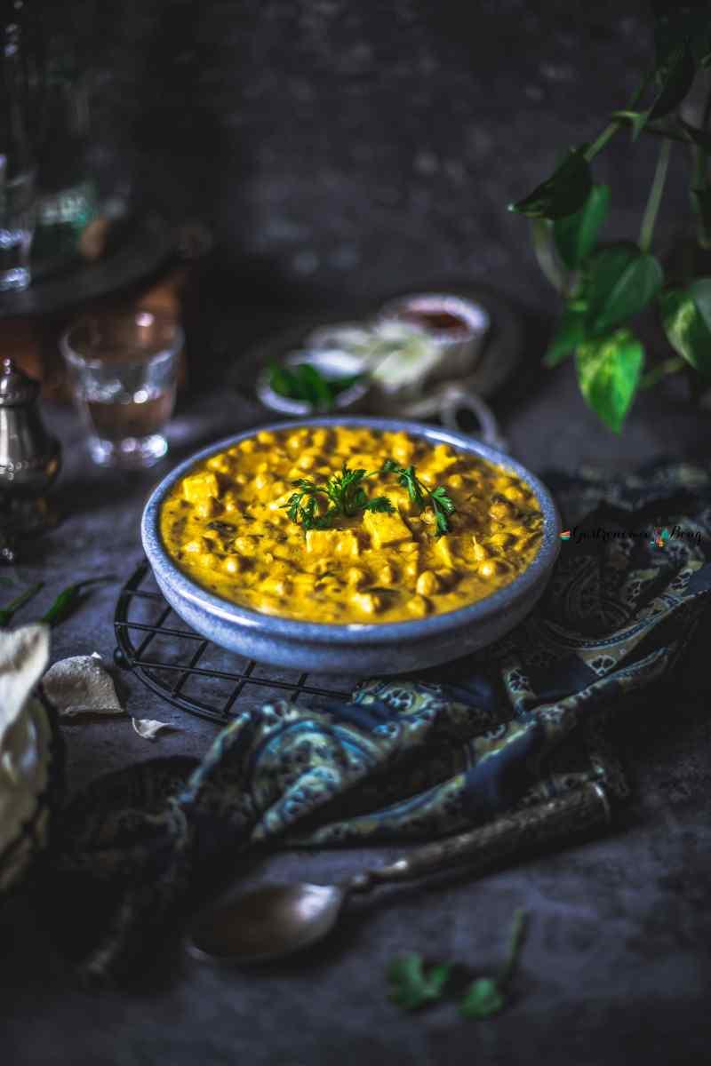 Chana Paneer Madra Himachali recipe