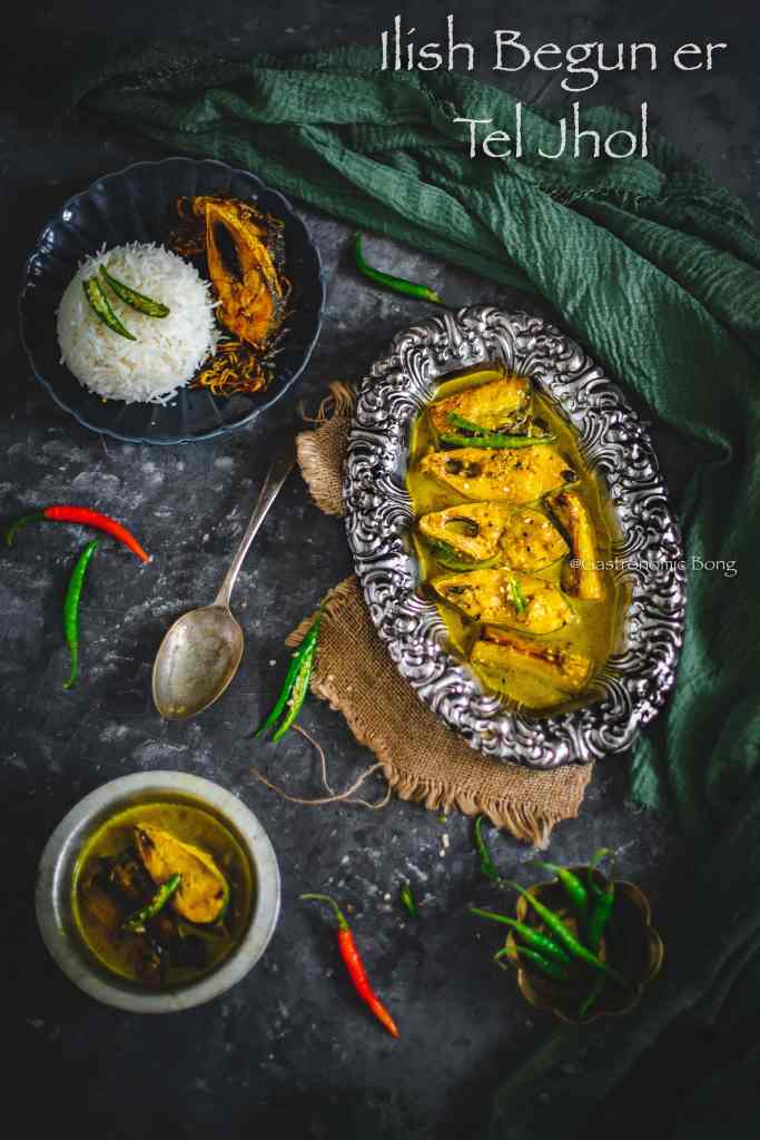 Begun diye Ilish macher jhol