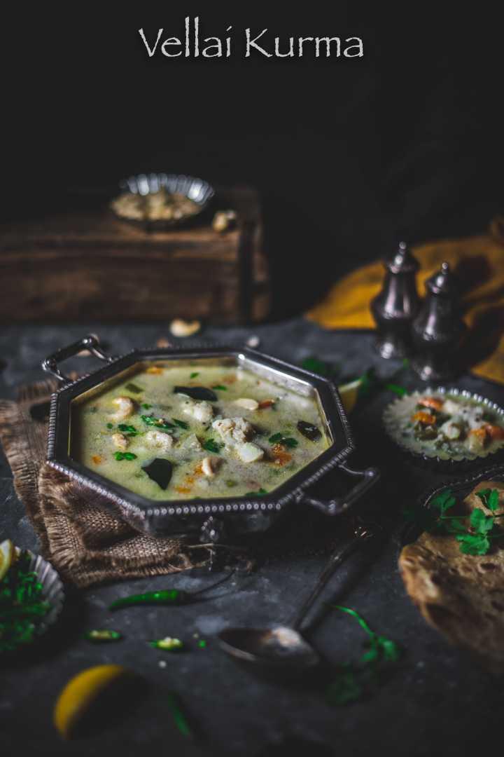 Chettinad Vellai Kurma – Vegetable Korma