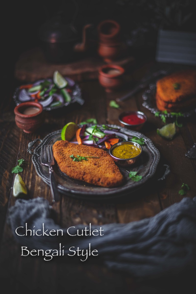 Chicken Cutlet Bengali Style