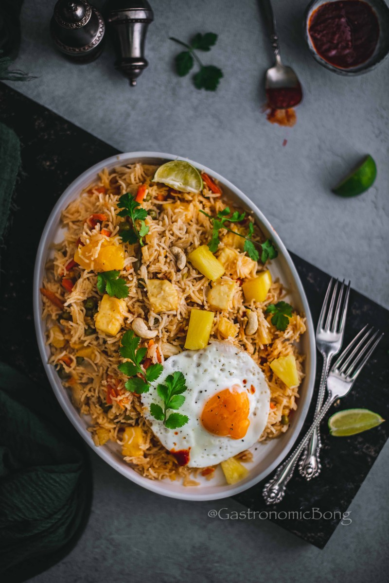 One-Pot Paneer Pineapple Rice