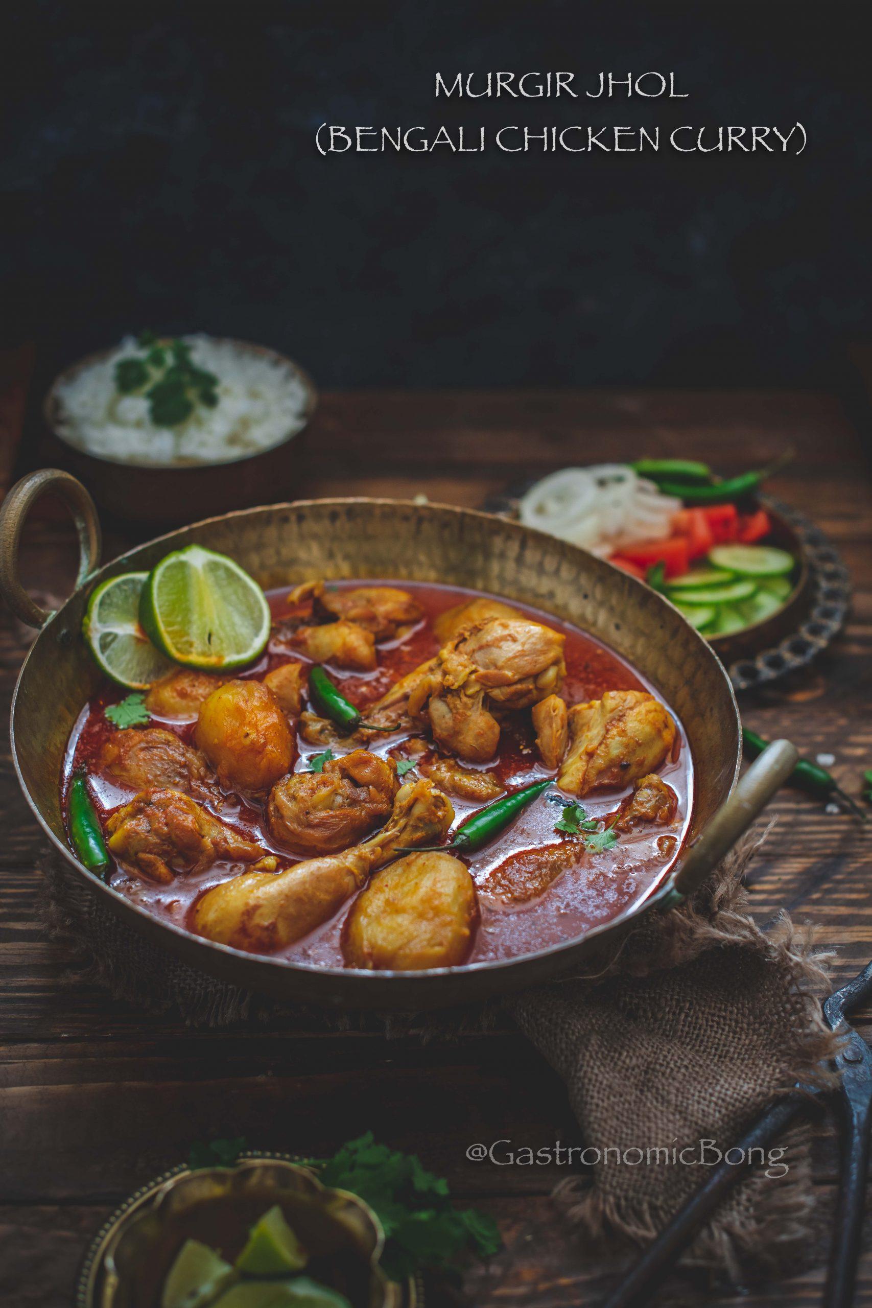 Murgir Jhol Bengali Chicken Curry Gastronomic Bong