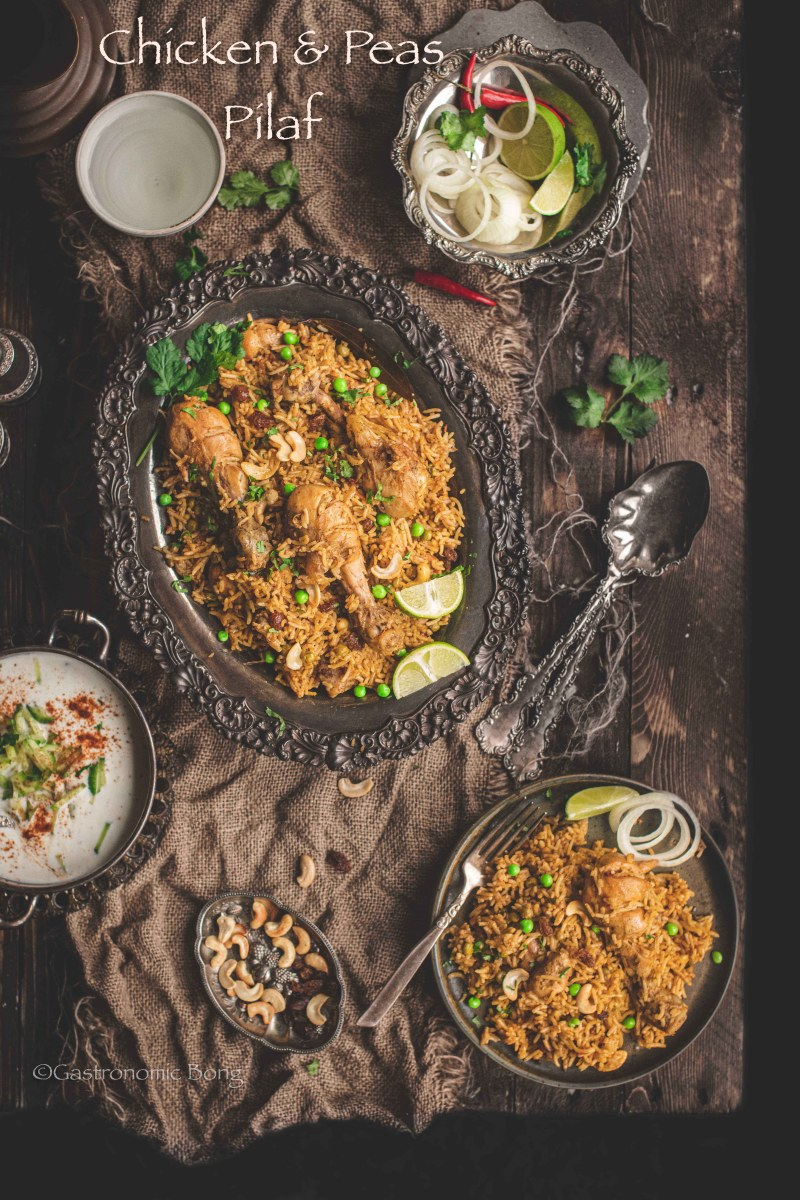 Chicken Pulao (Instant Pot & Stovetop)
