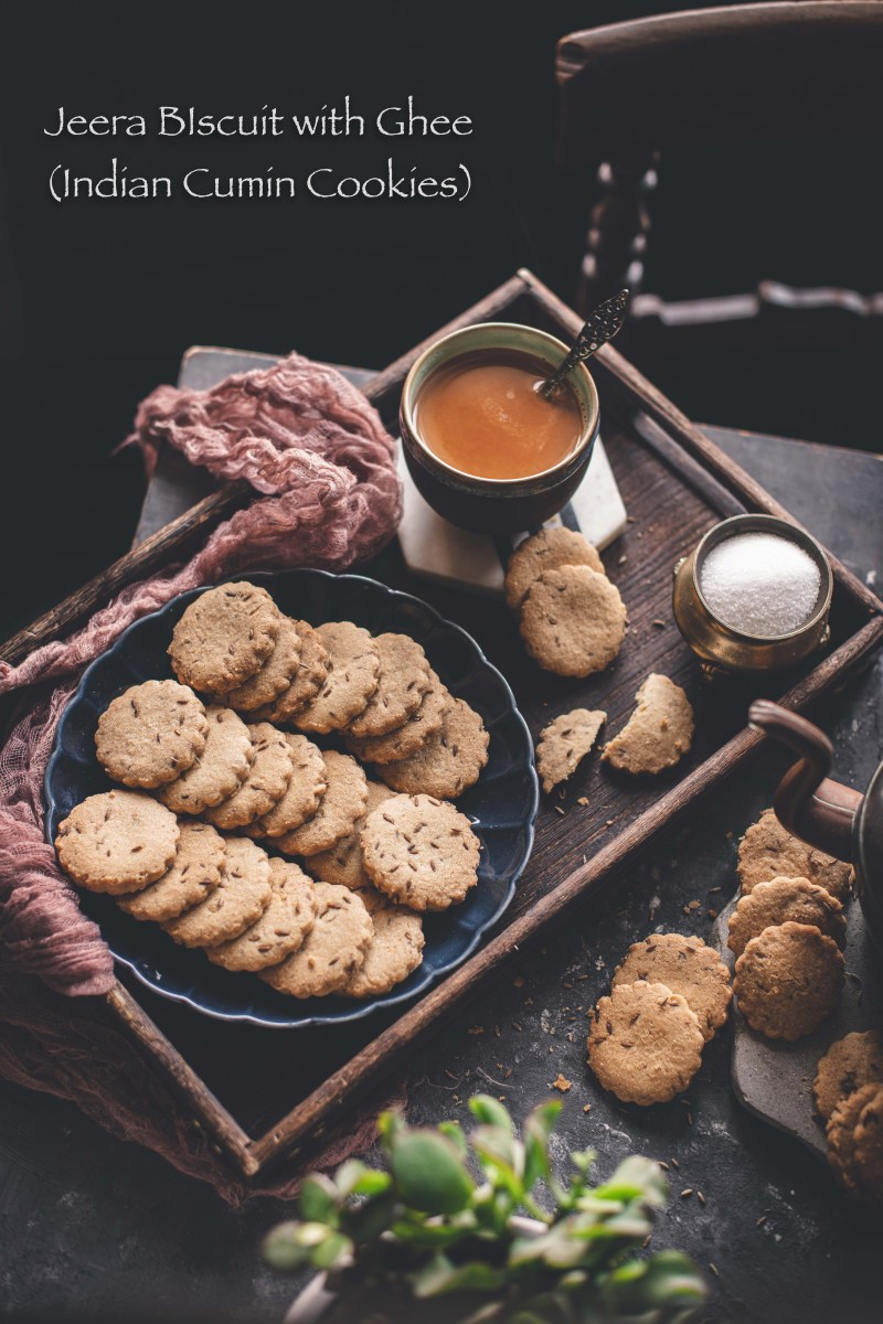 Jeera Biscuits with Ghee