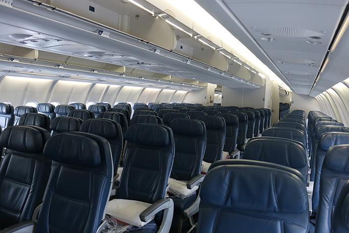 economy class seats Delta Air Lines