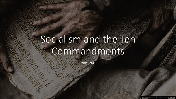 Socialism and the Ten Commandments