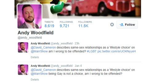 e97d778e0db Prime Minister David Cameron accidentally refers to homosexuality as a ' lifestyle choice'.