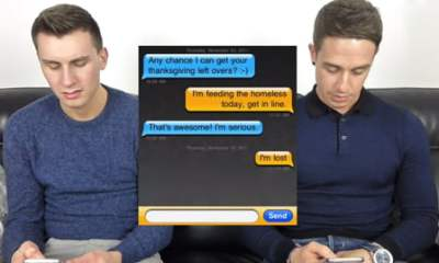 Gay Couples Shocked Reading Grindr Conversations