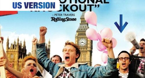 Digitally edited USA version of Pride Movie DVD cover