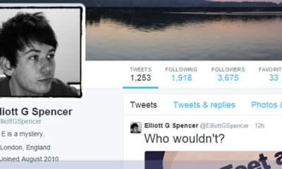 Comedian Elliot Spencer (Stephen Fry's Boyfriend)