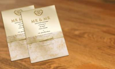 Mr and Mr Wedding Invitations