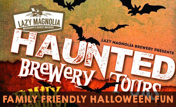 Halloween fun at Lazy Magnolia Brewery