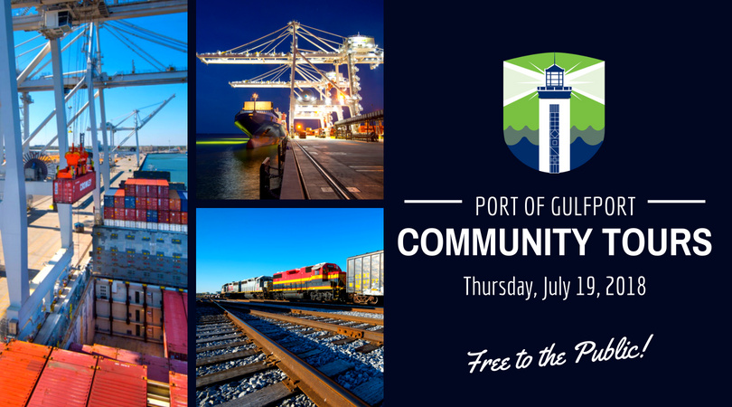 Port of Gulfport Community Tours