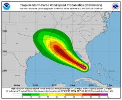 GORDON UPDATE FOR MISSISSIPPI GULF COAST