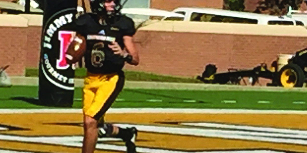 GOLDEN EAGLES UPSET MARSHALL, STAY ELIGIBLE FOR BOWL