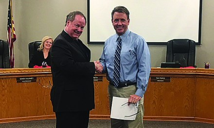 Carpenter Sworn-In as LB School Board Member, Smith Discusses Bids