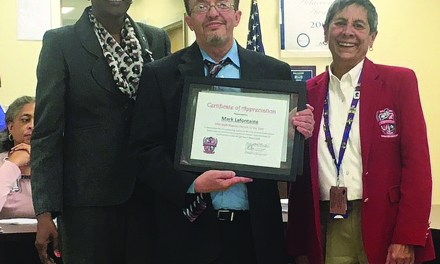 LaFontaine Named Pass School District Parent of the Year