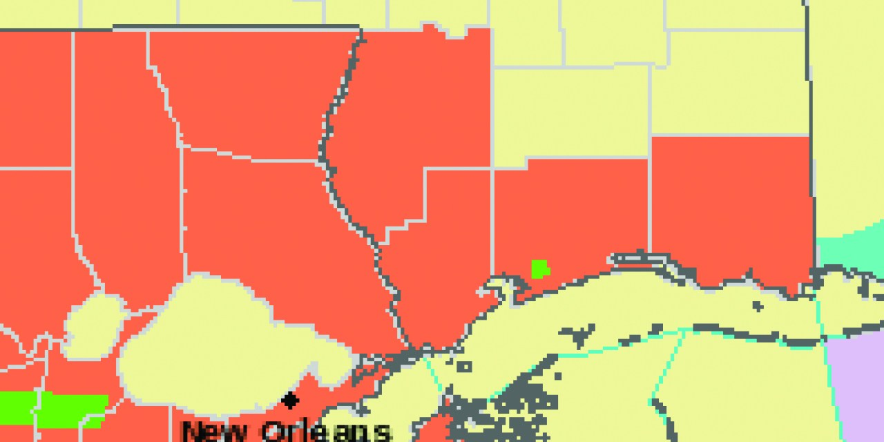 Heat Advisory until 6 PM this evening & Flood Warning for Wolf River until Friday
