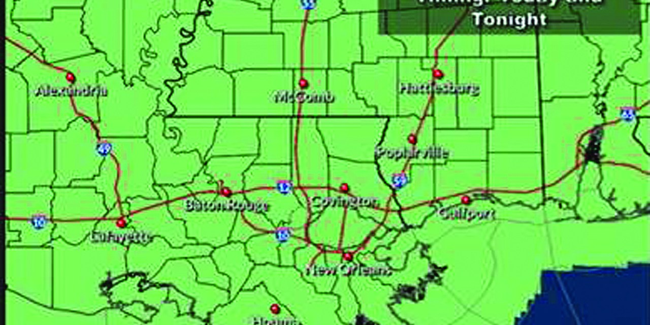 Heavy Rainfall and Severe Weather Threat Throughout Wednesday
