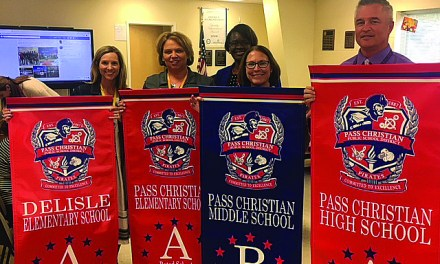 Pass Schools Honored by District with Banners