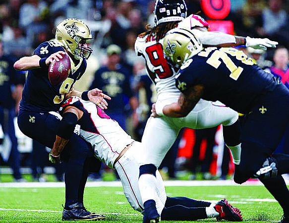 Saints Can't Find an Answer to the Dirty Birds