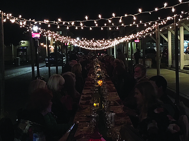 Fourth Farm-to-Table on Davis Avenue Brings Large Crowd