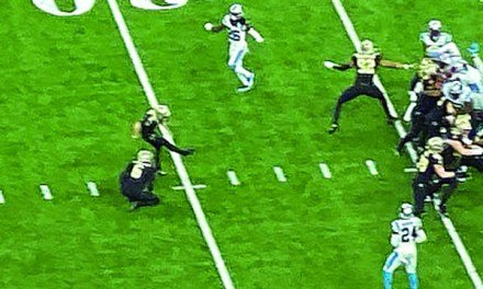 A GAME OF INCHES:  Saints edge Panthers on last second Field Goal