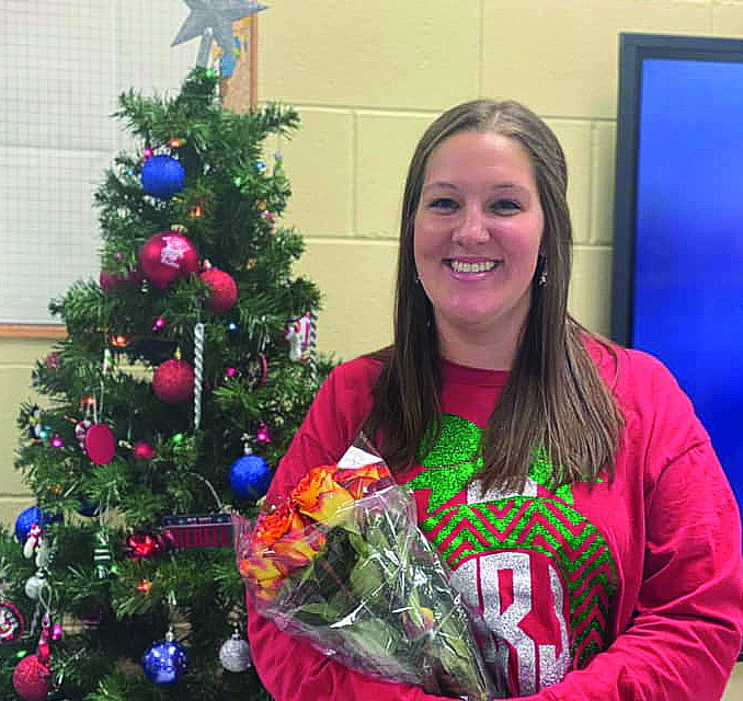 Rishel selected as Pass Christian School District Teacher of the Year