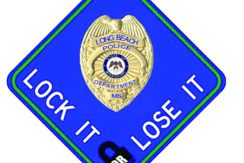 Long Beach Police Department Awarded $7300 for 'Lock It or Lose It' Campaign