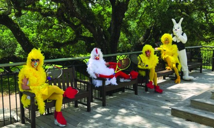 Pass Christian Easter Chicks Participate in Federer Challenge
