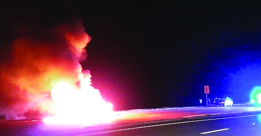 Car Fire in Henderson Point Leaves No Injuries