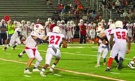 Red Rebels Shutout Hurricanes 42-0