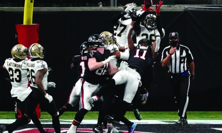 "Saints Hold-Off ""Dirty Birds"" 21-16"