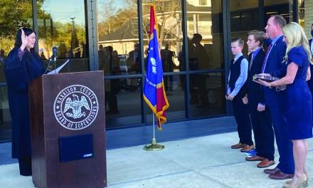 Parker Sworn In as Coast District Attorney