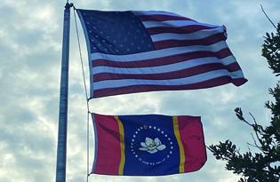 New Mississippi Flag Finally Flying in Pass Christian