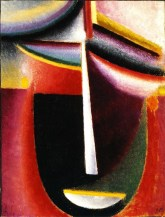 Abstract Head : Mystery, 1925, Oil on board, Stiftung Im Obersteg. Permanent loan to the Kunstmuseum Basel.