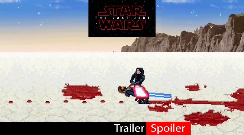 Como seria a batalha entre Luke Skywalker e Kylo Ren em 16-bits