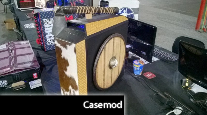 Vote no casemod mais criativo da Campus Party 2018 #CPBR11