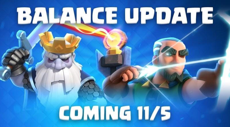 O que vem no balanceamento de novembro no Clash Royale (Imagem: Supercell, canal oficial do Clash Royale)