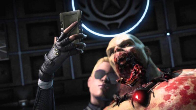 A selfie de Mortal Kombat X