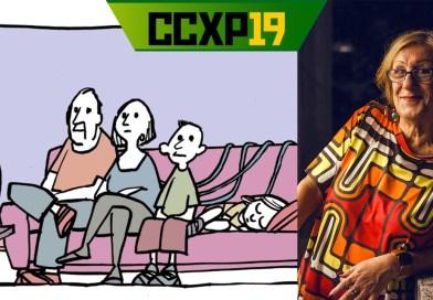 CCXP19 terá LAERTE no Artists' Alley