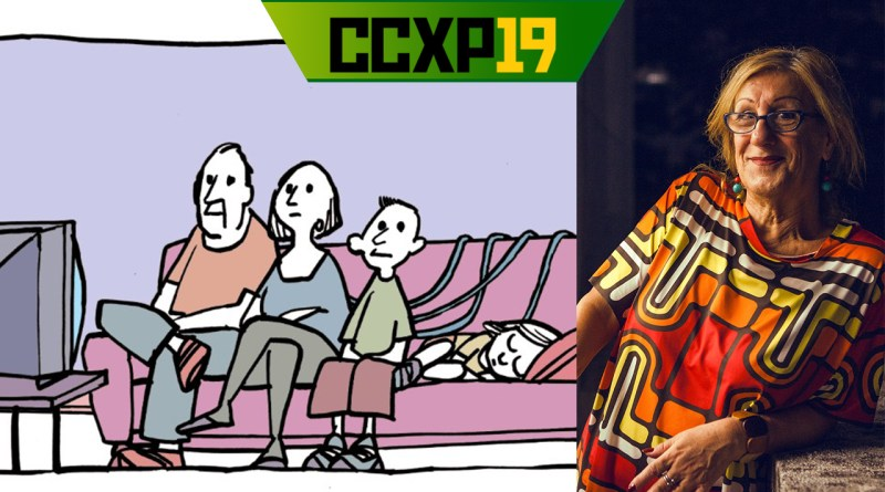 CCXP19 terá LAERTE no Artists' Alley