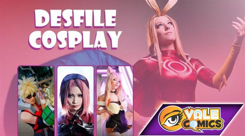 Saiba mais sobre o desfile de cosplay da Vale Comics