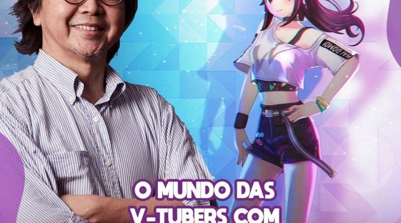 Toshihiro Fukuoka estará no Ressaca Friends e falará sobre V-Tubers!
